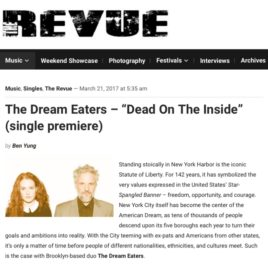 """""""Dead On the Inside"""" premiere The Dream Eaters, The Revue"""