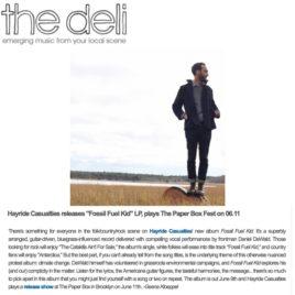 NYC The Deli Magazine Hayride Casualties Fossil Fuel Kid