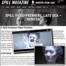 Late Sea, Hunter, Mina Nishimura, Spill Magazine