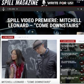 """Spill Magazine premieres """"Come Downstairs"""" video by Mitchell Leonard & Haisi Hu"""