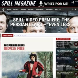 """The Spill Magazine premieres The Persian Leaps music video """"Even Less"""""""