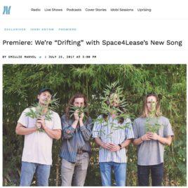 "Space4Lease's single ""Drifting"" premieres on idobi"