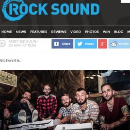 War Games - Rock Sound press