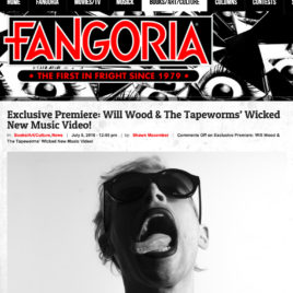 Will Wood And The Tapeworms premiere Fangoria