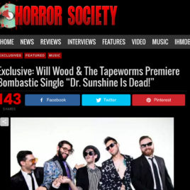 """Will Wood and the Tapeworms """"Dr Sunshine Is Dead"""""""