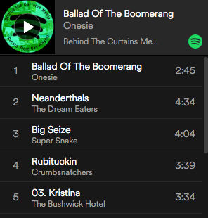 Spotify Playlist Record Store Day