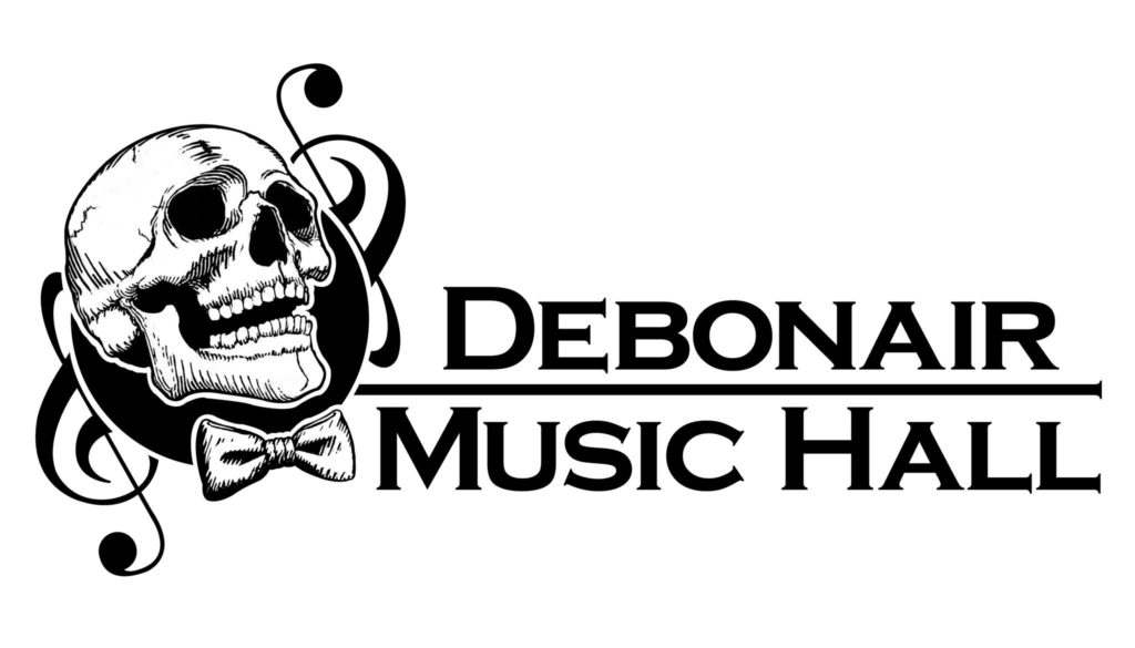 Debonair Music Hall landscape logo