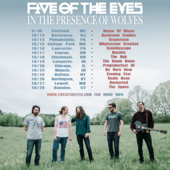 Five of the Eyes - Tour Flyer